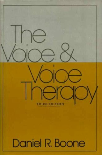 9780139431180: The voice and voice therapy