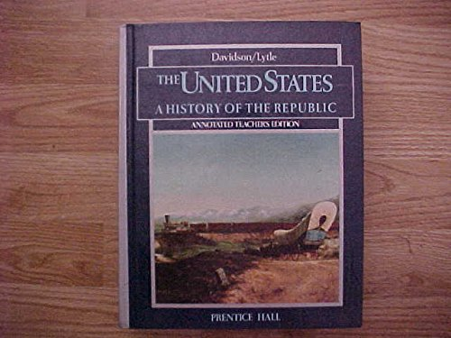 9780139437052: The United States: A History of the Republic