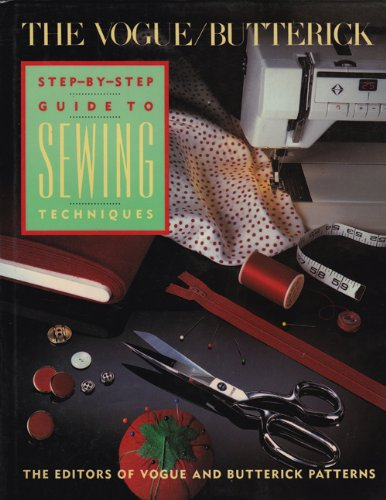 9780139441257: The Vogue-Butterick Step-By-Step Guide to Sewing Techniques