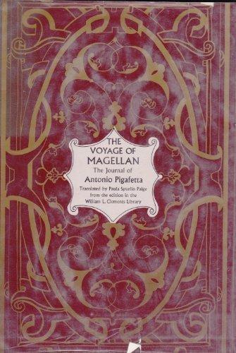 The voyage of Magellan;: The journal of: Antonio Pigafetta