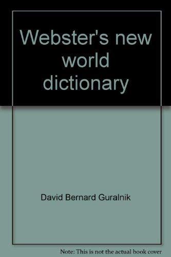 Webster's new world dictionary: Guralnik
