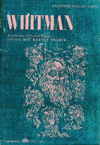 9780139445958: Whitman, a Collection of Critical Essays. (20th Century Views)