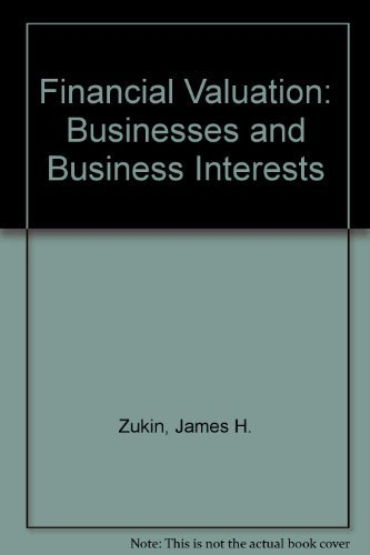 9780139450235: Financial Valuation: Businesses and Business Interests