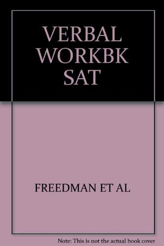 9780139451553: Verbal workbook for the SAT