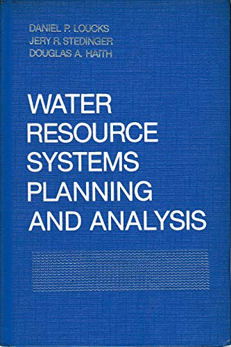 9780139459238: Water Resource Systems: Planning and Analysis