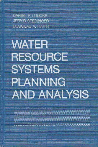 9780139459238: Water Resource Systems Planning and Analysis