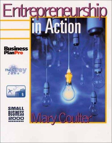 9780139460883: Entrepreneurship in Action