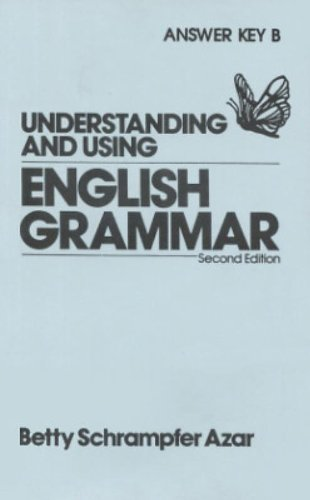 9780139463938: Understanding and Using English Grammar: Answer Key-A