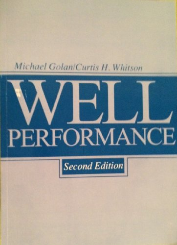 9780139466090: Well Performance