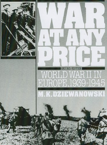 9780139466588: War At Any Price: World War II In Europe, 1939-1945 (2nd Edition)