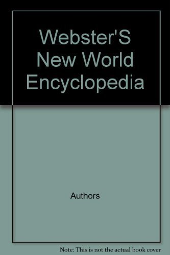 Webster'S New World Encyclopedia: s