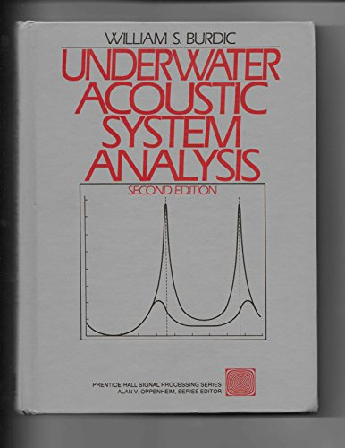 9780139476075: Underwater Acoustic System Analysis (Prentice-hall Signal Processing Series)