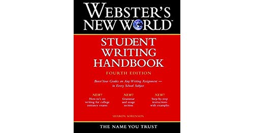 9780139477898: Webster's New World Student Writing Handbook