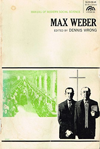9780139478468: Max Weber (Makers of Modern Social Science)