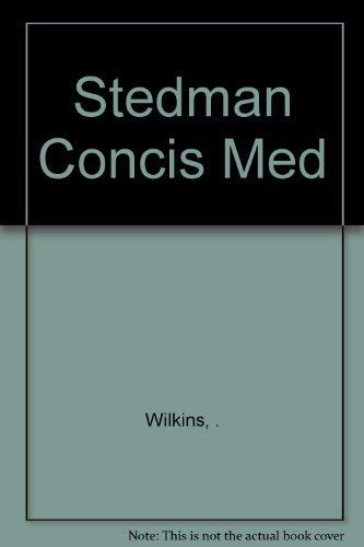 9780139481420: Stedman's Concise Medical Dictionary
