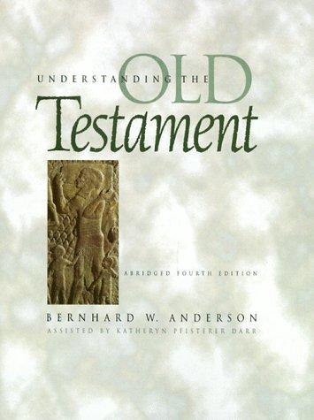 9780139483998: Understanding the Old Testament