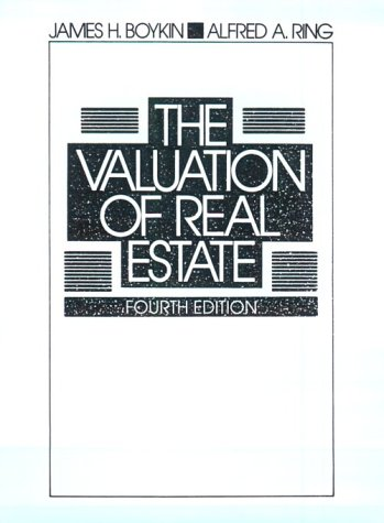 9780139484315: The Valuation of Real Estate