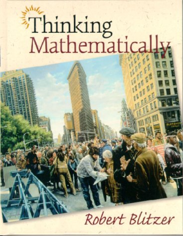 9780139488450: Thinking Mathematically