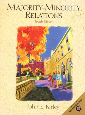 9780139488603: Majority-Minority Relations (4th Edition)