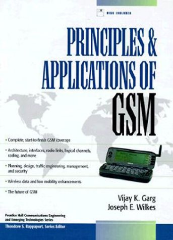 Principles & Applications of Gsm (Prentice Hall: Vijay K. Garg,