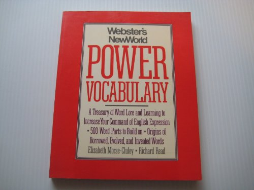 9780139492235: Webster's New World Power Vocabulary
