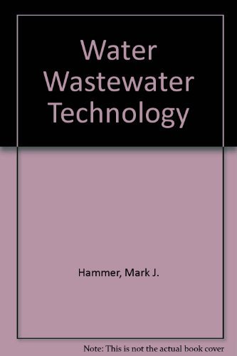 9780139501067: Water and Wastewater Technology