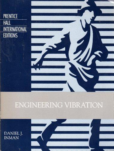 9780139518157: Engineering Vibration