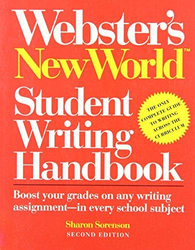 9780139519550: Webster's New World Student Writing Handbook