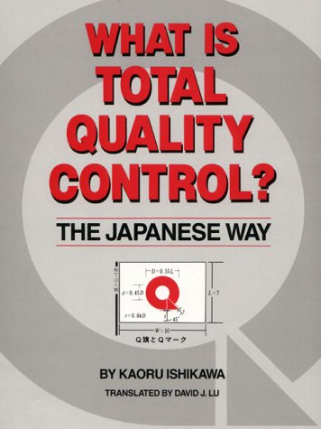 9780139524332: What Is Total Quality Control?: The Japanese Way (English and Japanese Edition)