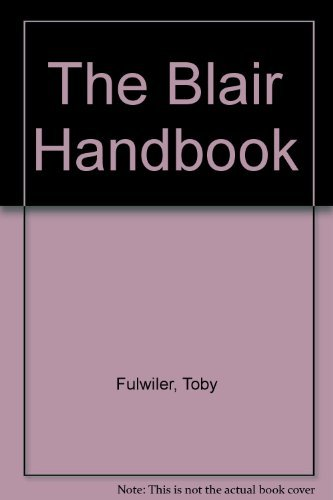 9780139532337: The Blair Handbook