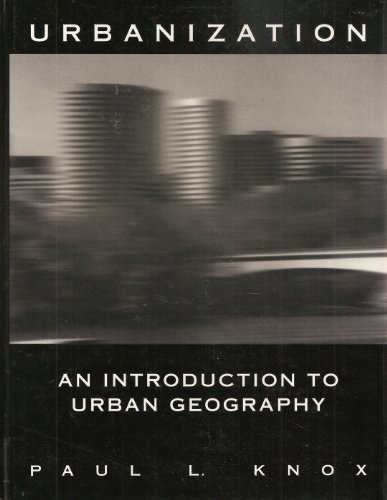 9780139533570: Urbanization: Introduction to Urban Geography