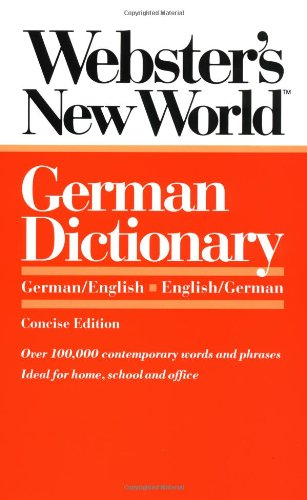 9780139536212: Webster's New World German Dictionary: German/English English/German