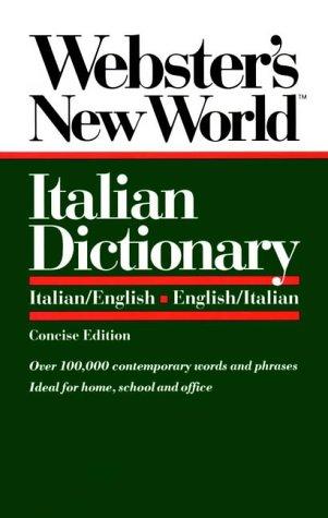 9780139536397: Webster's New World Italian Dictionary: Italian/English, English/Italian