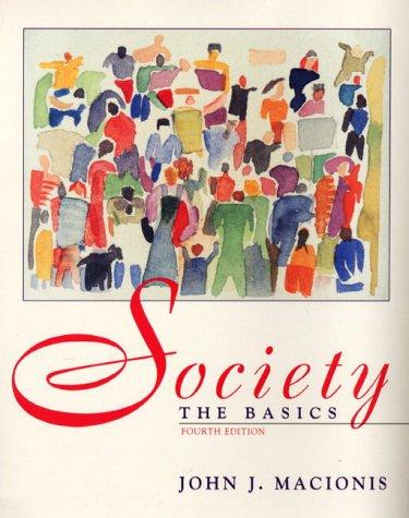 9780139546785: Society: The Basics