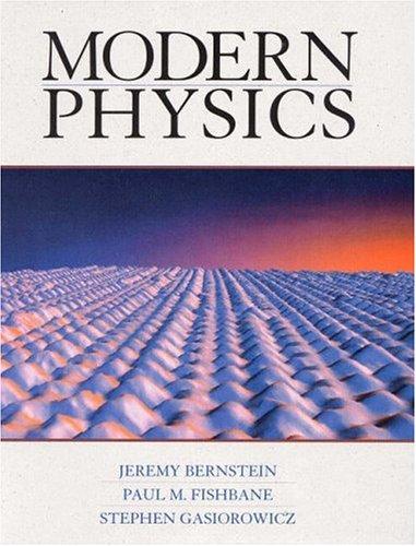 9780139553110: Modern Physics