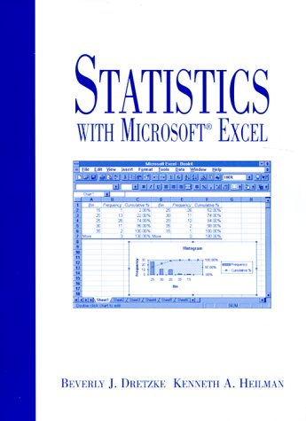 9780139565335: Statistics with Microsoft Excel