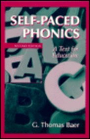 9780139568893: Self-Paced Phonics: A Text for Education (2nd Edition)