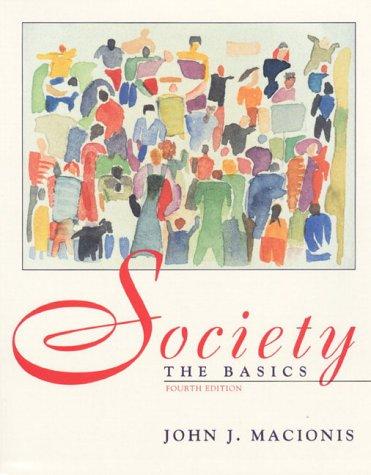 9780139570100: Society: The Basics