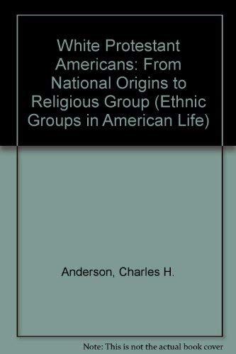 9780139574153: White Protestant Americans