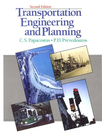 9780139580758: Transportation Engineering and Planning