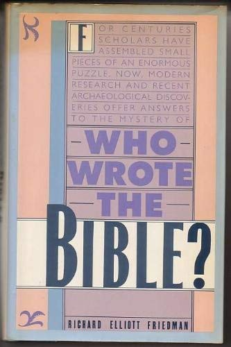 9780139585135: Who Wrote the Bible