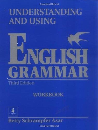 9780139586873: Understanding and Using English Grammar Workbook, Third Edition