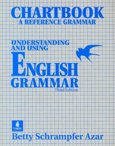 9780139587030: Chartbook: A Reference Grammar : Understanding and Using English Grammar