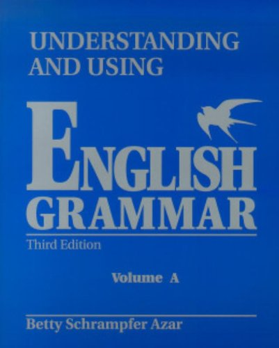 9780139587290: Student Text, Vol. A: Understanding and Using English Grammar (Blue), Third Edition