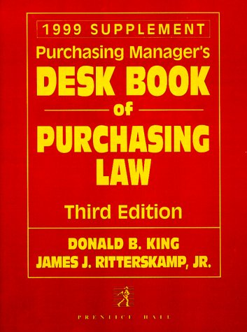 9780139596698: Purchasing Manager's Desk Book of Purchasing Law