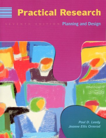 9780139603600: Practical Research: Planning and Design, 7th Edition