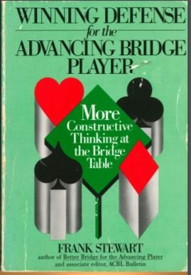 9780139606830: Winning Defence for the Advancing Bridge Player