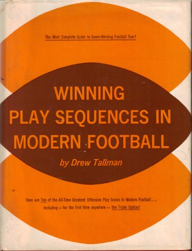 9780139610455: Winning play sequences in modern football