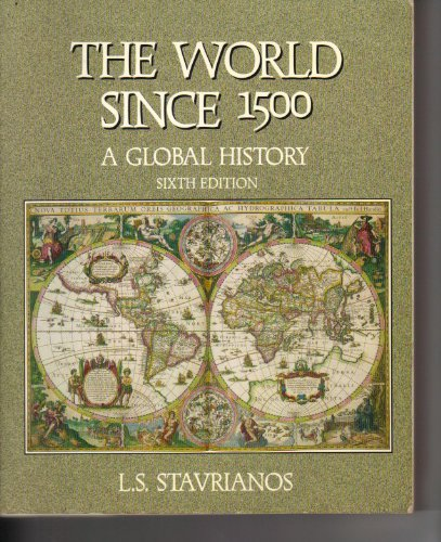 9780139629112: World Since 1500: A Global History