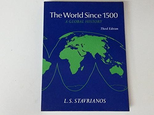 9780139681561: World since 1500: A Global History Edition: third